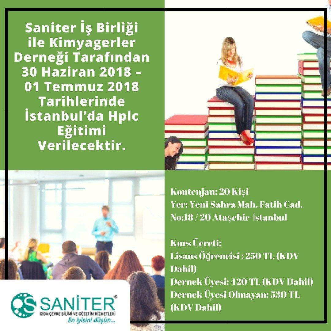 İstanbul'da HPLC Eğitimi